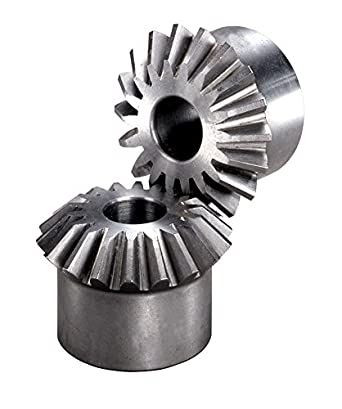 Boston Gear L102Y Miter Gear 0.625 Bore Steel 0.625 Bore 1.5 Mounting Distance 18 Teeth 20 Degree Pressure Angle 1:1 Ratio 12 Pitch 1.5 Mounting Distance