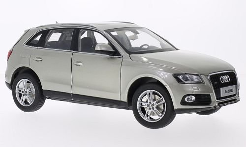 Audi Q5, metallic-beige, 2014, Modellauto, Fertigmodell, Paudi 1 18