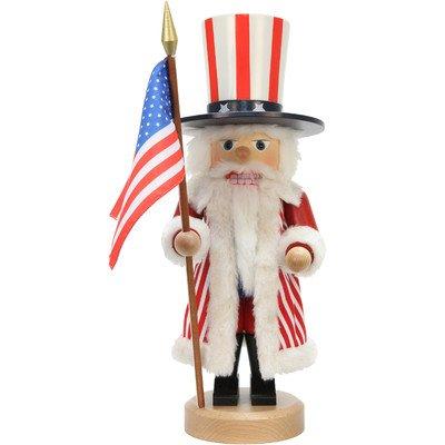 0-641 - Christian Ulbricht Nutcracker - Uncle Sam - 17''''H x 6''''W x 7''''D by Christian Ulbricht