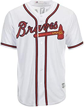 58b6bf261fb Ronald Acuna Jr. Atlanta Braves Autographed Majestic White Replica Jersey -  Fanatics Authentic Certified at Amazon s Sports Collectibles Store