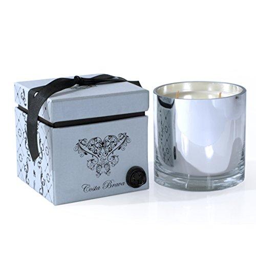 R 16 Home ABC CC0-4 Costa Brava Oak Candle, 4