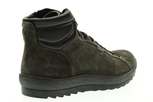 scarpe amp;CO IGI camoscio lacci grigio uomo Antracite mid 66781 antracite scarponcini UfwxqnwI1