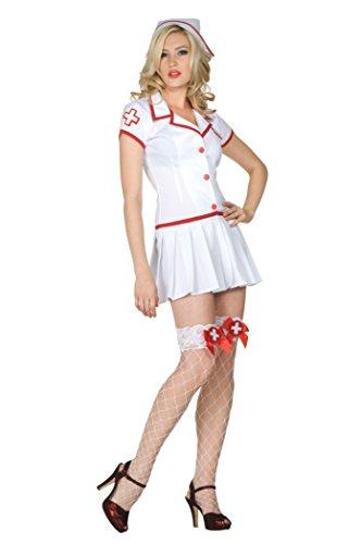 Nurse Feel Good Womens Nurse Costume sz Medium 6-8 ()