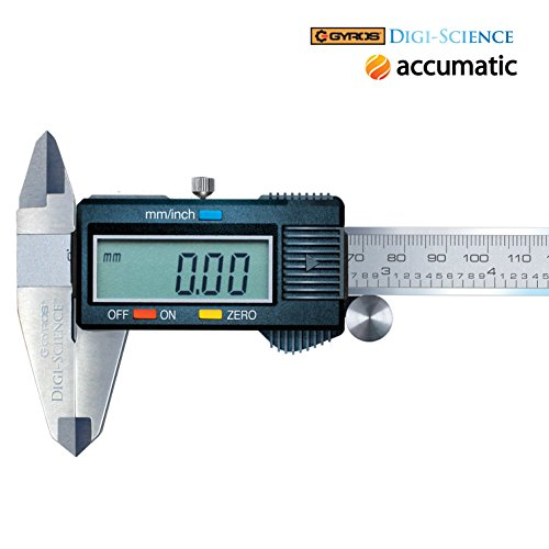 Gyros DIGI-SCIENCE Accumatic Digital Electronic Caliper | Measures up to 0-6