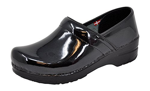 Sanita Women's Professional Patent Clog - best shoes for nurses