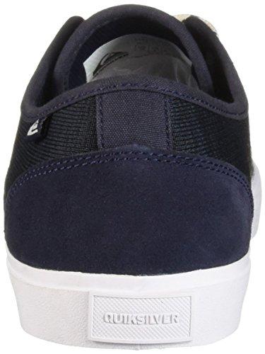 Hommes Pause Shore Grey Chaussures white Top Pour blue Quiksilver Low 4fpY5qq