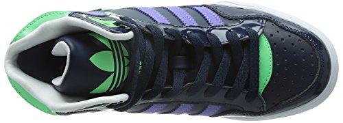 adidas M19459 - Zapatos de baloncesto de otra piel mujer - Multicolor (Conavy/Joypur/Ltflgr)