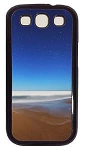 Samsung Galaxy S3 Case Cover - Starry Sky Beach Fisheye Customzie Case for Samsung S3 SIII I9300 - Polycarbonate - Black