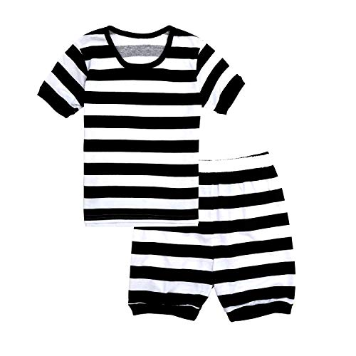 (Tkala Boys Christmas Pajamas Girls Children Clothes Set Dinosaur 100% Cotton Little Kids Pjs Sleepwear (12,)