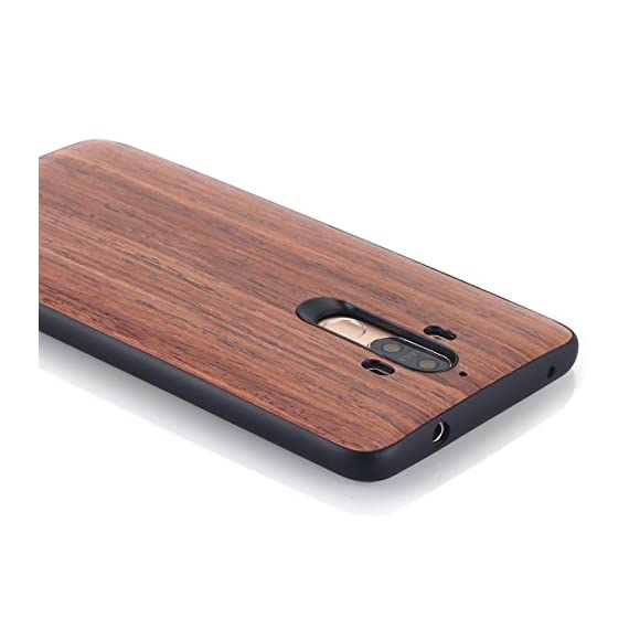 Huawei Mate 9 Case, AICase [Slim Fit] [Non Slip] PC Hybrid [Natural Wood] Protective Wooden Case for Huawei Mate 9 (Rose… 5 Design specifically for Huawei Mate 9 - 5.9 inch- 5.5 inch ( Not fit for Huawei Mate 9 Pro ) Unique & Attractive. AICase phone case is unique based on real wood skin layer, looks better on hand than picture, make your phone more attractive Practical Protector. The case can protect the screen, lens, and bumper edges very well. But we highly Recommend to match this case with a Screen Protector to avoid screen shattered once dropped on uneven floors.