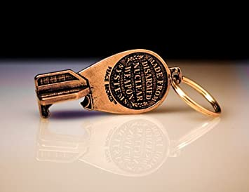 Beers Not Bombs The Bomb Bottle Opener Key Chain.