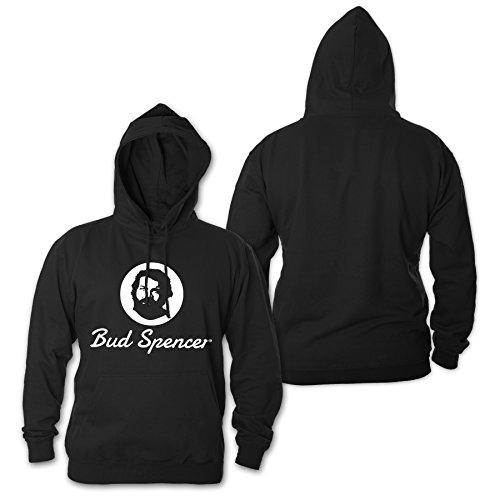 Bud Spencer Herren Official Logo Hoodie (schwarz)