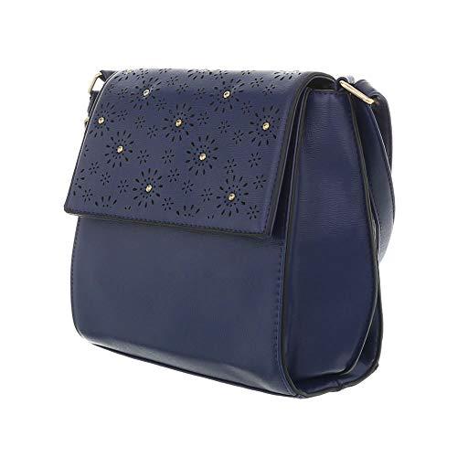 Sac Foncé femme à pour à porter l'épaule Design Ital Bleu qpzwRxUp