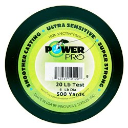 100 yds powerpro spectra fish line moss green 20 lb for 20 lb braided fishing line