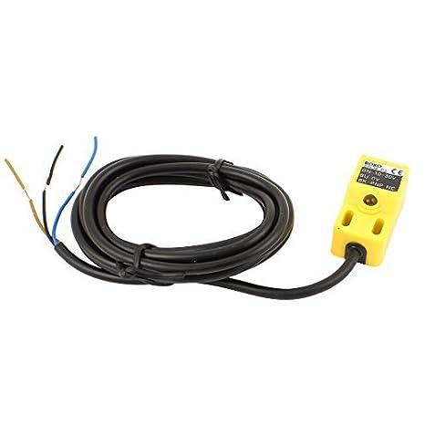 Enfoque SN04-P Sensor de interruptor de proximidad PNP NO DC 10-30V 200mA - - Amazon.com