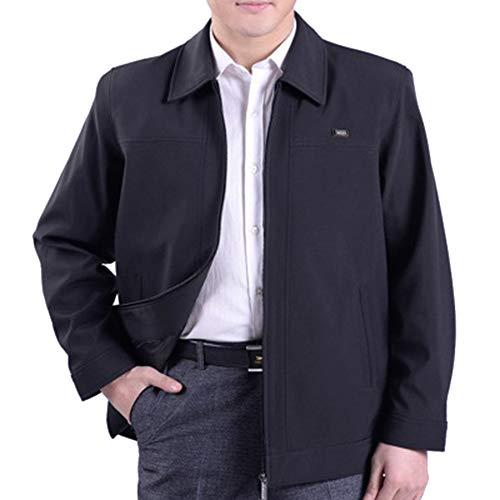 Più Giacca Xfentech's Dimensioni 01 Bavero Outwear Inverno Stile Cappotto L'autunno Uomo E In Leggero Casual 0fW0rFqB