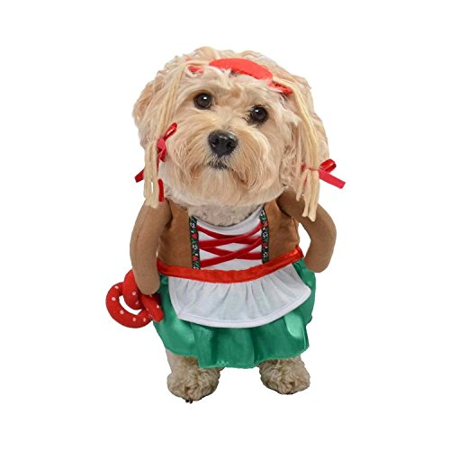 Target Dog Pet Costume - German Girl Beermaid Oktoberfest Pretzel -