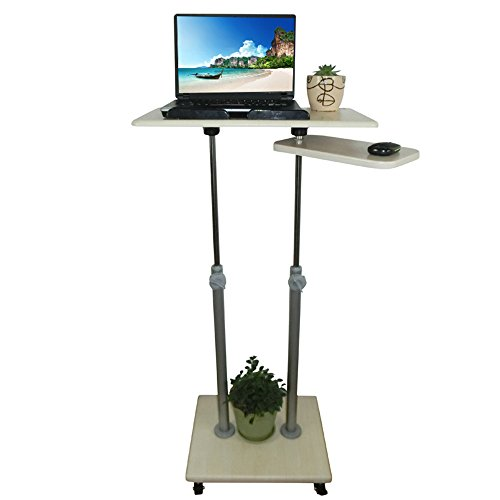Tables MEIDUO Adjustable-Height Stand Steady Multifunctional Podium/Lectern/Laptop Stand! Excellent use for classrooms, offices, and home! (Size : B(85-138) CM)