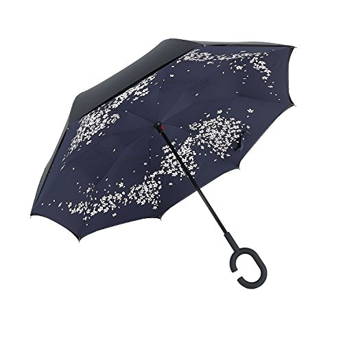 EverKing Inverted Umbrella Windproof Protection