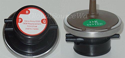 (25870-74090 Vacuum Solenoid Modulator EGR Valve Modulator Fits: Lexus ES300 Subaru Forester Impreza Legazy Toyota Avalon Camry Celica MR2 RAV4 Solara)