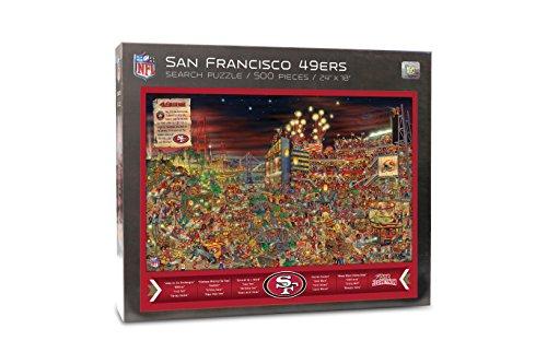 NFL San Francisco 49Ers Find Joe Journeyman 500-piece Puzzle