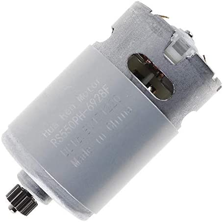 12V 13500RPM RS550 DC Motor with Torque Gear Box for Electric Screwdriver Drill