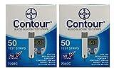 Bayer Contour Blood Glucose, 100 Test Strips