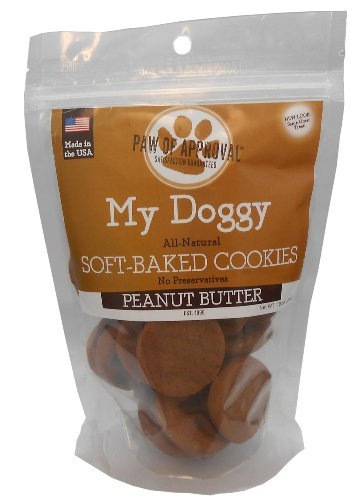 (My Doggy Soft-Baked Cookies Dog Treats - 10 Ounces (Peanut Butter))