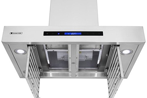 XtremeAir Pro-X Series PX06-W42, 42'' Wide, Easy Clean swing-able baffle Filters, Stainless Steel, Wall Mount Range Hood by XtremeAIR (Image #6)