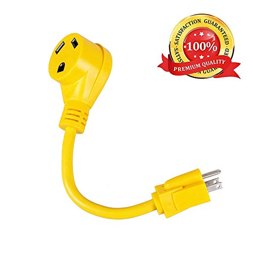 Epicord RV Power Cord Dogbone RV Power Adapter with Handle 12 12AWG/3 Cord (15M30F)
