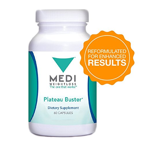 (Medi-Weightloss Reformulated Plateau Buster (60 Tablets) - Dietary Supplement - Supports Thyroid Health)