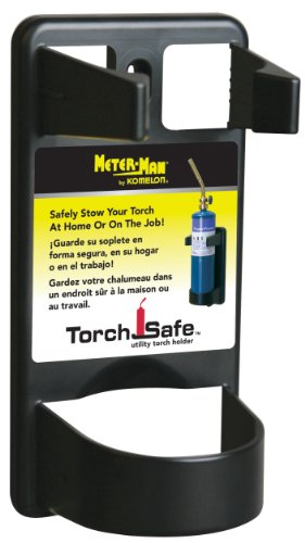 Komelon TS12 Torch Safe Utility Torch Holder, Black