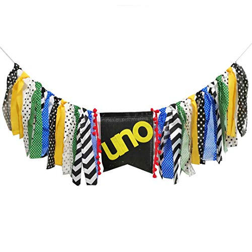 Festival Party Decoration Mexicano Uno High Chair Banner Handmade Tassel Garland First Birthday Party Supplies Party Decorations