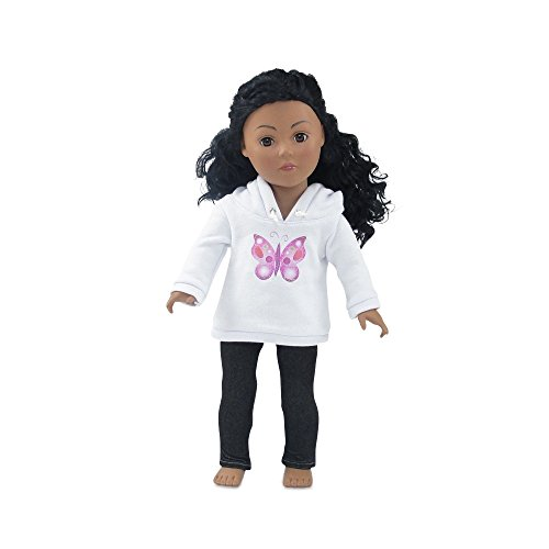 Doll Clothes Sweatshirt Beautiful Butterfly