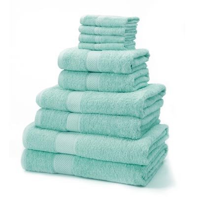 Linens Limited Supreme - Juego de toallas (10 unidades, 4 toallas de cara de