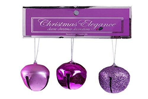Christmas Jingle Bells - Set of 3 (Jingle Bells Party Collar)
