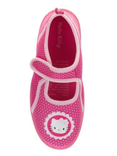 Hello Kitty Girls Pink Polka Dots Water Shoes Aqua Socks Bea