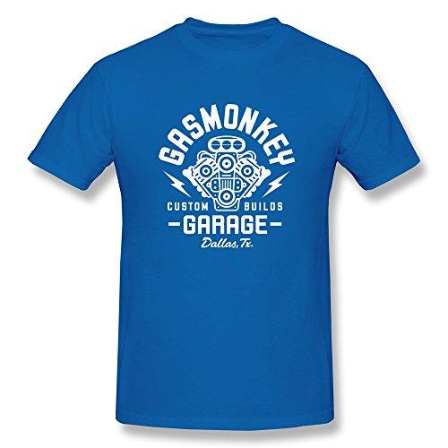 Ptshirt.com-19415-Jahei Custom Gas Monkey Garage Man T-Shirt Short Sleeve Black-B018TRYWWW-T Shirt Design