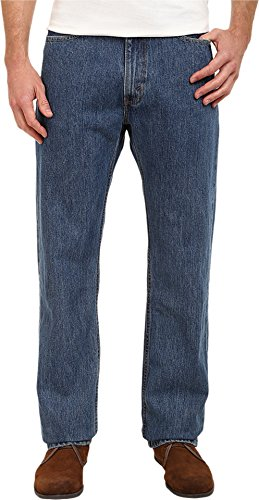 783c8474 Galleon - Levi's Men's 505 Big & Tall Straight Leg Regular Fit Jean, Medium  Stonewash, 56x32