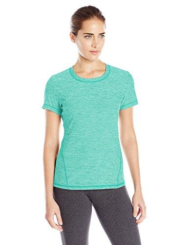 SHAPE activewear Women's Trail Tee, Atlantis, L