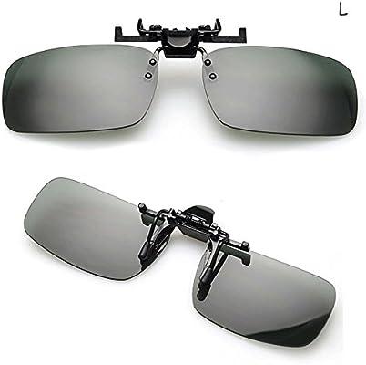 Moonar®Turner día práctico noche visión lente con clip gafas de sol gafas de conducción / Practical Day Night Vision Clip-on Lens Sunglasses Turner ...