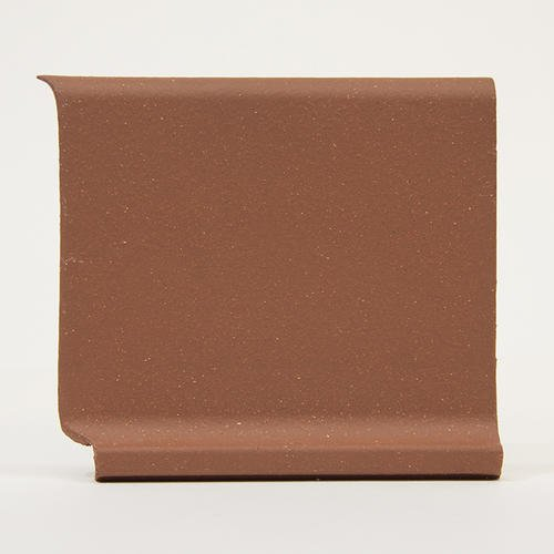 Cove Base Tile - INSIDE COVE BASE COLONIAL RED QUARRY TILE TRIM Pack of 16