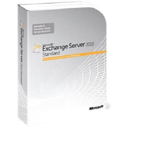 Microsoft Exchange Server 2010 Standard CAL – CAL's voor 5 gebruikers (pc)