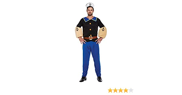 Disfraz Adulto MARINERO HOMBRE: Amazon.es: Juguetes y juegos