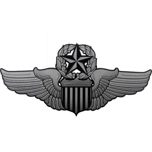 U.S. Air Force Command Pilot Badge Clear (Pilot Decal)