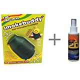 2 Item BUNDLE Smokebuddy - Personal Air Filter / Purifier AND Formula 420 Smog-Out Odor Nuetralizer