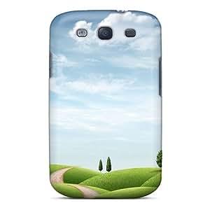 Galaxy High Quality Tpu Case/ Fresh World Hd YzrTVTk1217AtYGL Case Cover For Galaxy S3