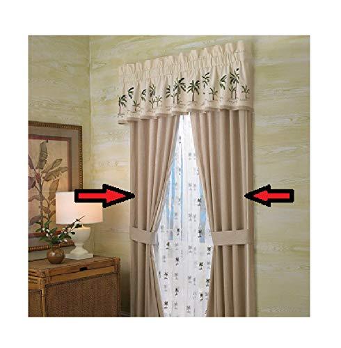 Croscill Stripes Curtain - Croscill Fiji Curtain Panel Pair