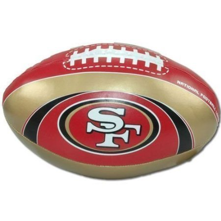 "San Francisco 49ers ""Goal Line"" 8″ Softee Football – DiZiSports Store"