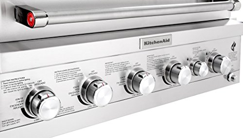 KitchenAid 740-0781 Built in Propane Gas Grill Head, Stainless